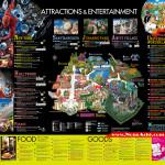 แผนที่ Universal Studios Japan