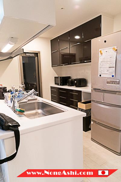 ห้องรับครัว Shinsaibashi Top Floor Suite