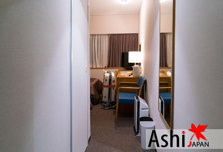 ภายในห้องพักโรงแรม Hotel New Hankyu Osaka