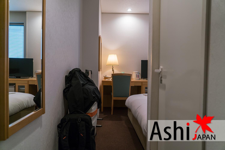 ภายในห้องพักโรงแรมแกรนเวีย โอซาก้า