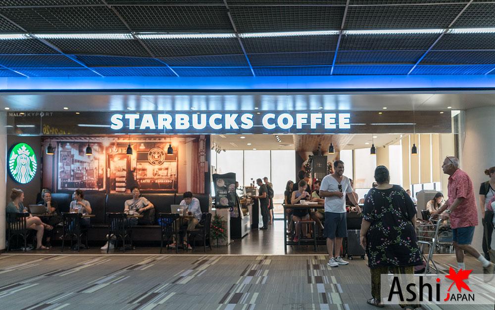 มี Starbucks ด้วยนะ | Duty Free ดอนเมือง