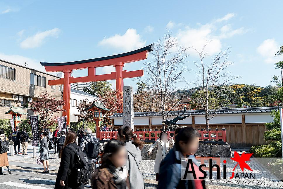 ถึงแล้วจ้า Inari shrine