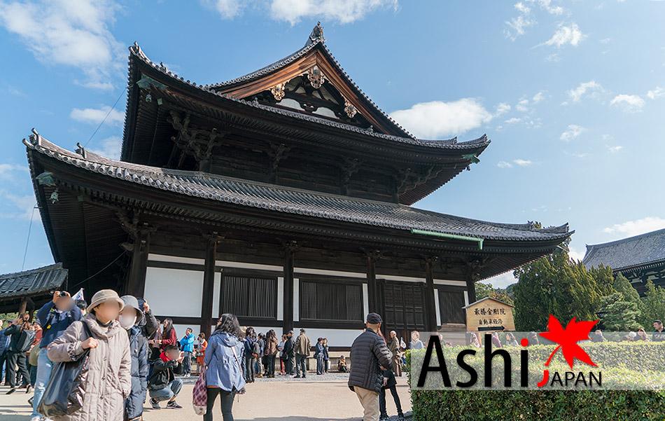 ถึงแล้ววัด Tofukuji Temple