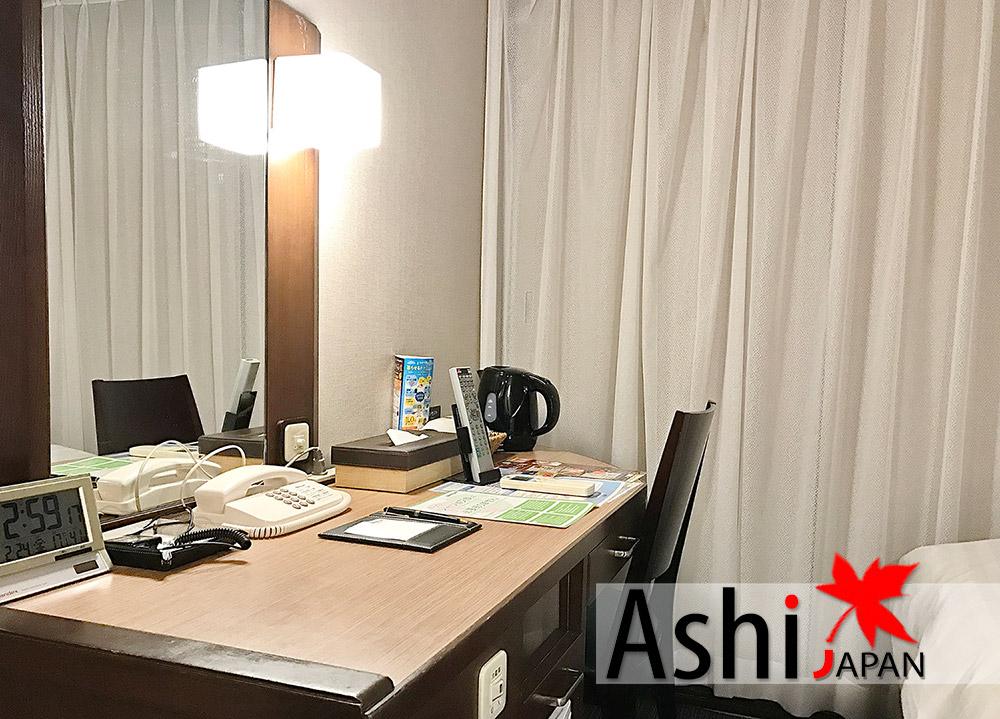 บริเวณภายในห้องพัก โรงแรม Dormy Inn Shinsaibashi Hot Spring