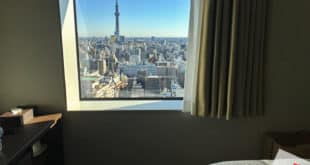 วิวจากห้องนอนของ โรงแรม Hotel Lifetree Ueno