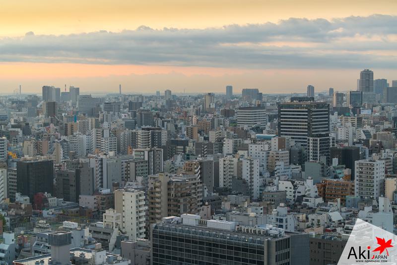 วิวนี่จากห้องนอนอีกมุม(ที่ไม่เห็น Tokyo Skytree)